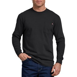 Dickies - Mens Long Sleeve Heavyweight Crew Neck Shirt