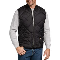 Dickies - Mens Diamond Quilted Nylon Vest