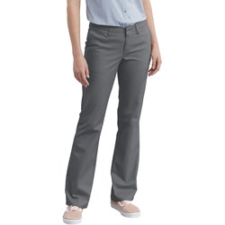 Dickies - Womens Slim Boot Stretch Twill Pants