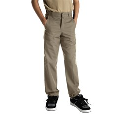 Dickies - Boys Adult Size Flat Front Pants