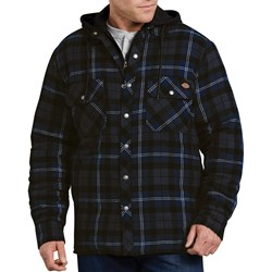 Dickies - Mens Relaxed Fit Icon Hooded Quilted Shirt Jacket