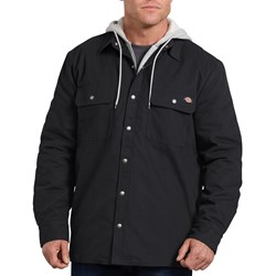 Dickies - Mens Relaxed Fit Icon Hooded Dck Qltd Shirt Jacket