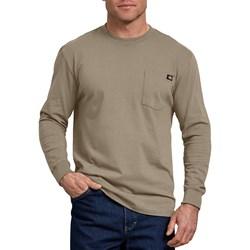 Dickies - Mens Long Sleeve Heavyweight Crew Neck Shirt