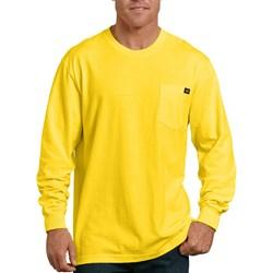 Dickies - Mens Long Sleeve Heavyweight Neon Crew Neck Shirt