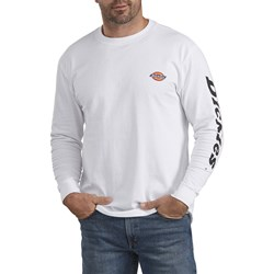 Dickies - Mens Relaxed Fit Long Sleeve Graphic T-Shirt