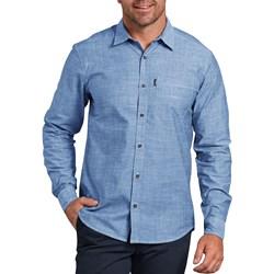 Dickies - Mens Modern Fit X-Series Long Sleeve Chambray Shirt