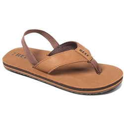 Reef - Boys Little Leather Smoothy Sandals