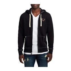 True Religion - Mens Classic Logo Zip Up Hoodie