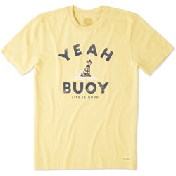 Life Is Good - Mens Yeah Buoy Crusher T-Shirt