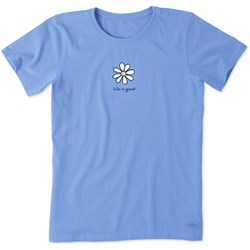 Life Is Good - Womens Daisy Vintage Crusher T-Shirt