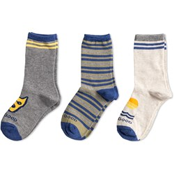 Life Is Good - Boys Crew | 3-Pack Cotton Socks