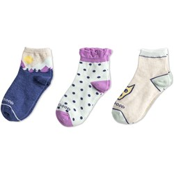 Life Is Good - Girls | 3-Pack Cotton Socks