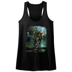 Bionic Commando - Womens Damaged Road Tank Top