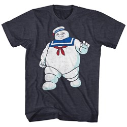 Ghostbusters Mens Mr Stay Puft T-Shirt