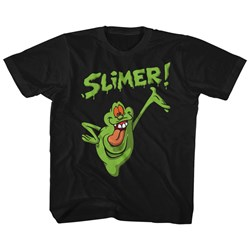 Ghostbusters Unisex-Child Slimer! T-Shirt