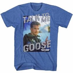 Top Gun Mens Talk  To Me T-Shirt
