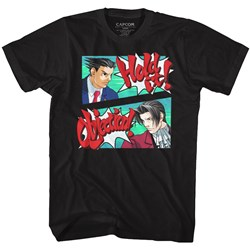 Ace Attorney - Mens Hold The Objection T-Shirt