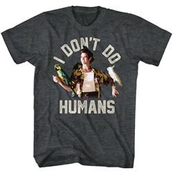 Ace Ventura - Mens Don'T Do Humans T-Shirt
