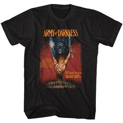 Army Of Darkness - Mens Aod Poster T-Shirt