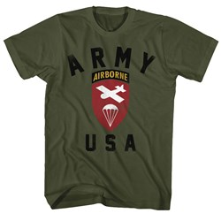Army - Mens Us Airborne T-Shirt
