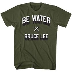 Bruce Lee - Mens Be Water T-Shirt