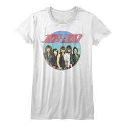Bon Jovi - Girls Vintage Band Shot T-Shirt