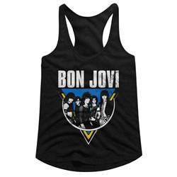 Bon Jovi - Womens Jonbon Racerback Top