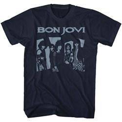 Bon Jovi - Mens Bluejovi T-Shirt