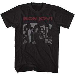 Bon Jovi - Mens Retrojovi T-Shirt