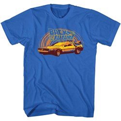 Back To The Future - Mens Yeller T-Shirt