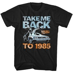 Back To The Future - Mens Take Me Back To 1985 T-Shirt