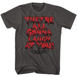 Carrie - Mens Gonna Laugh T-Shirt