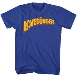 Cant Hardly Wait - Mens Loveburger T-Shirt