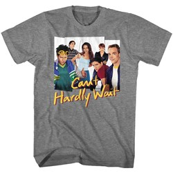 Cant Hardly Wait - Mens Group Photos T-Shirt