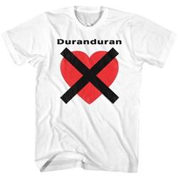 Duran Duran - Mens Heartx T-Shirt