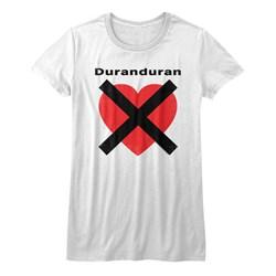 Duran Duran - Girls Heartx T-Shirt