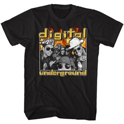 Digital Underground - Mens Fiyah T-Shirt