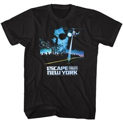 Escape From New York - Mens Vintage Poster T-Shirt