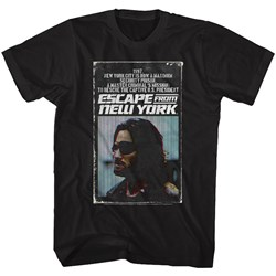 Escape From New York - Mens Efny Book T-Shirt