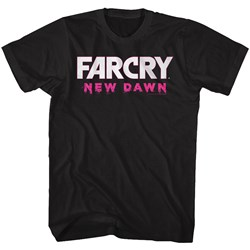 Far Cry - Mens New Dawn White Logo T-Shirt