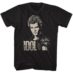 Billy Idol - Mens 2 Tone Billy T-Shirt
