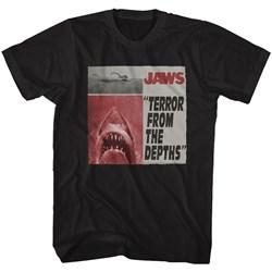 Jaws - Mens Newspaper T-Shirt