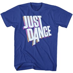 Just Dance - Mens Dimensional Logo T-Shirt
