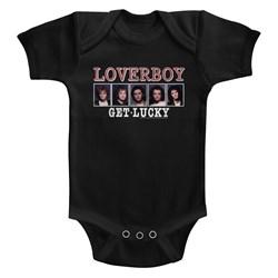 Loverboy - Unisex-Baby Get Lucky Onesie