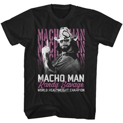 Macho Man - Mens Heavyweight Champ T-Shirt