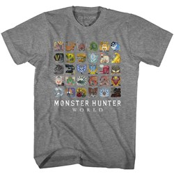 Monster Hunter - Mens Mhw Icons T-Shirt