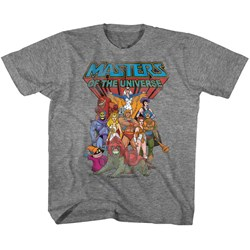 Masters Of The Universe - Unisex-Child The Whole Gang T-Shirt