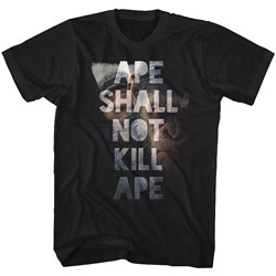 Planet Of The Apes - Mens Shall Not Kill T-Shirt