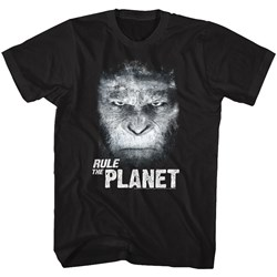 Planet Of The Apes - Mens Rule The Planet T-Shirt
