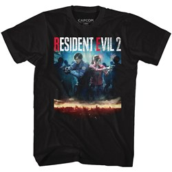 Resident Evil - Mens Re2Make Cover T-Shirt